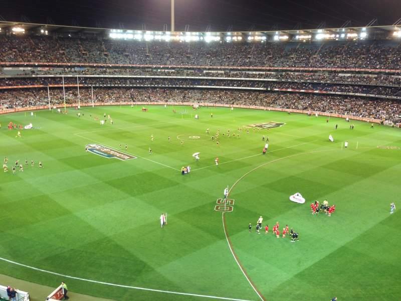 Vista sentada para Melbourne Cricket Ground Secção Q13 Fila 2 Lugar 4