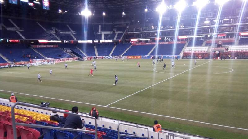 Vista sentada para Red Bull Arena (New Jersey) Secção 125 Fila 11 Lugar 31