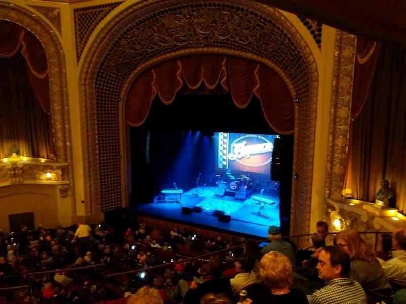 Vista sentada para Pabst Theater Secção 2RT Fila E Lugar 1
