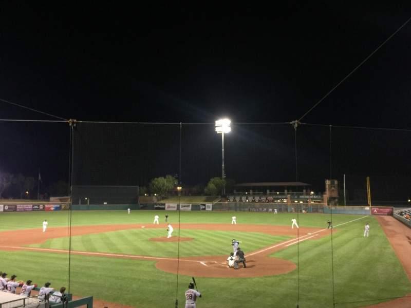 Vista sentada para Scottsdale Stadium Secção 201 Fila O Lugar 11