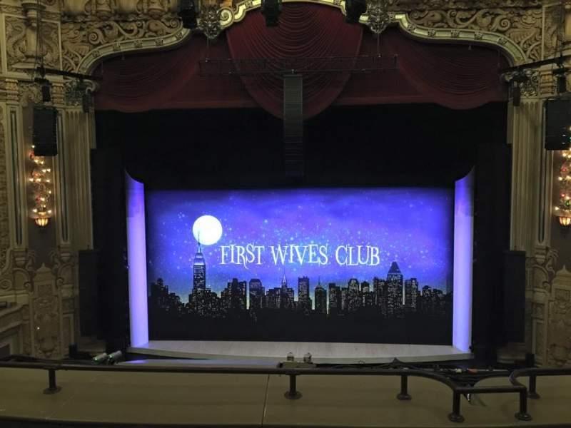 Vista sentada para James M. Nederlander Theatre Secção LOGE C Fila D Lugar 308