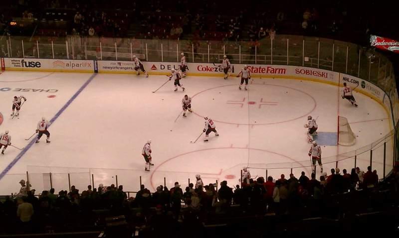 Vista sentada para Madison Square Garden Secção 119