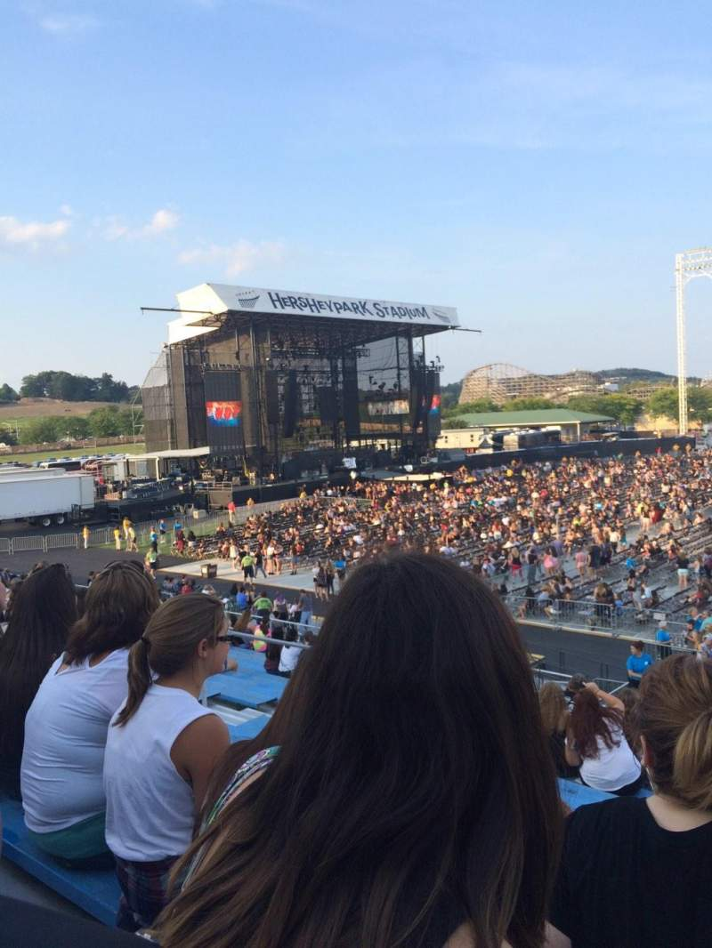 Vista sentada para Hershey Park Stadium Secção 6 Fila N Lugar 21