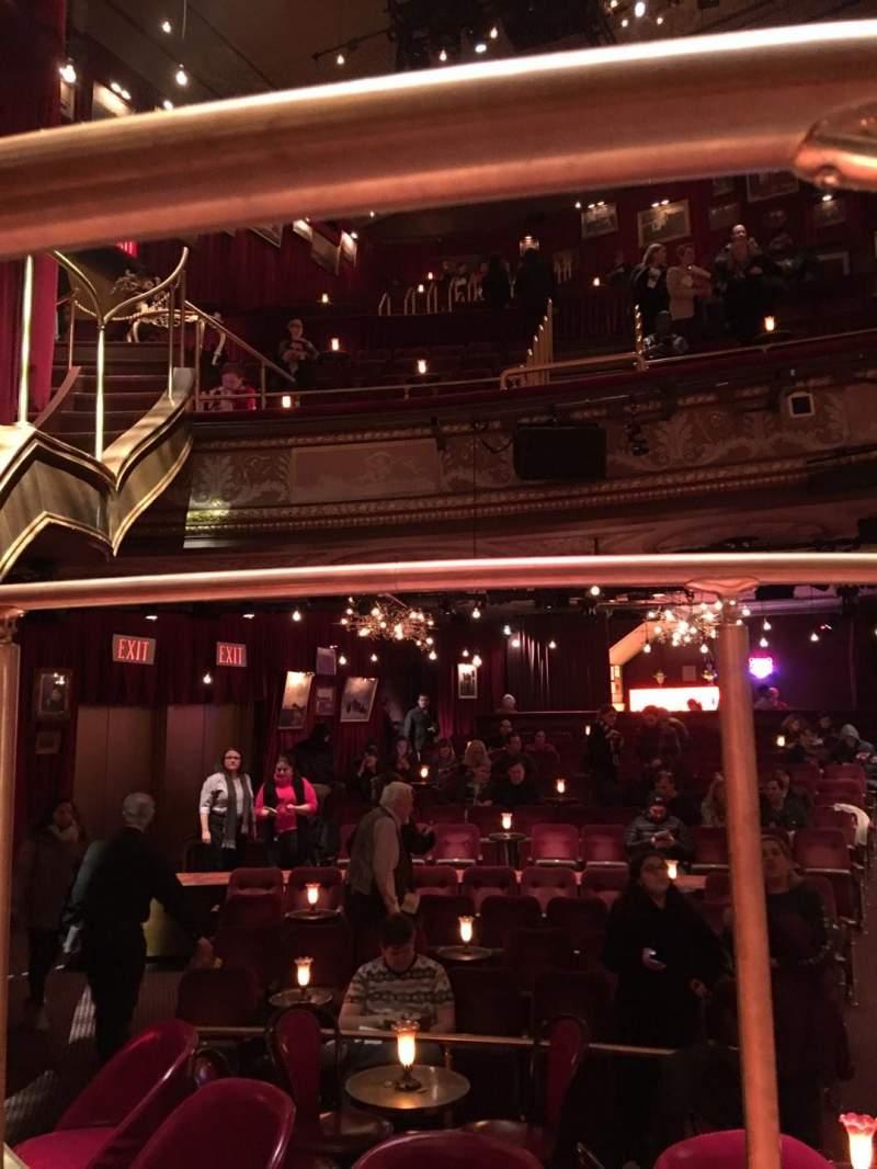 Vista sentada para Imperial Theatre Secção Stage Fila SA Lugar 1