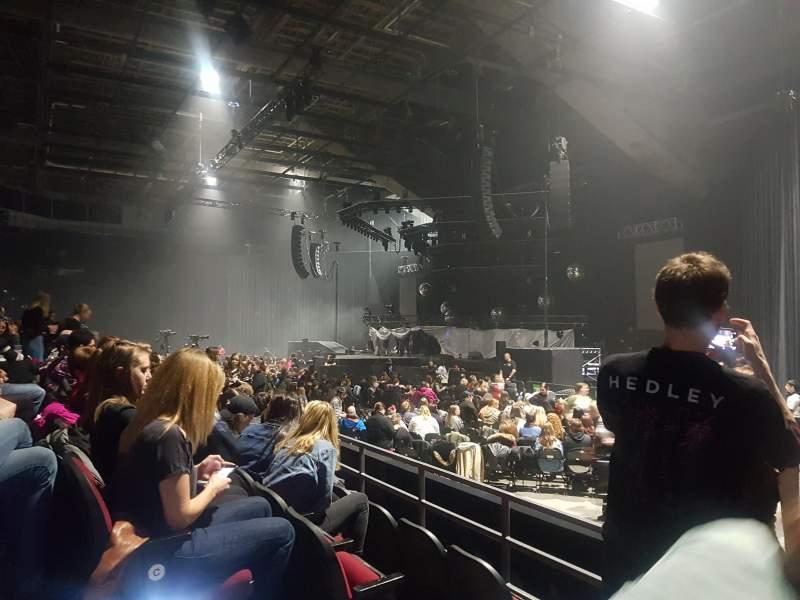 Vista sentada para TD Place Arena Secção 16 Fila E Lugar 3