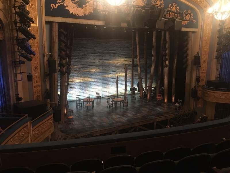 Vista sentada para Gerald Schoenfeld Theatre Secção Mezzanine L Fila E Lugar 15