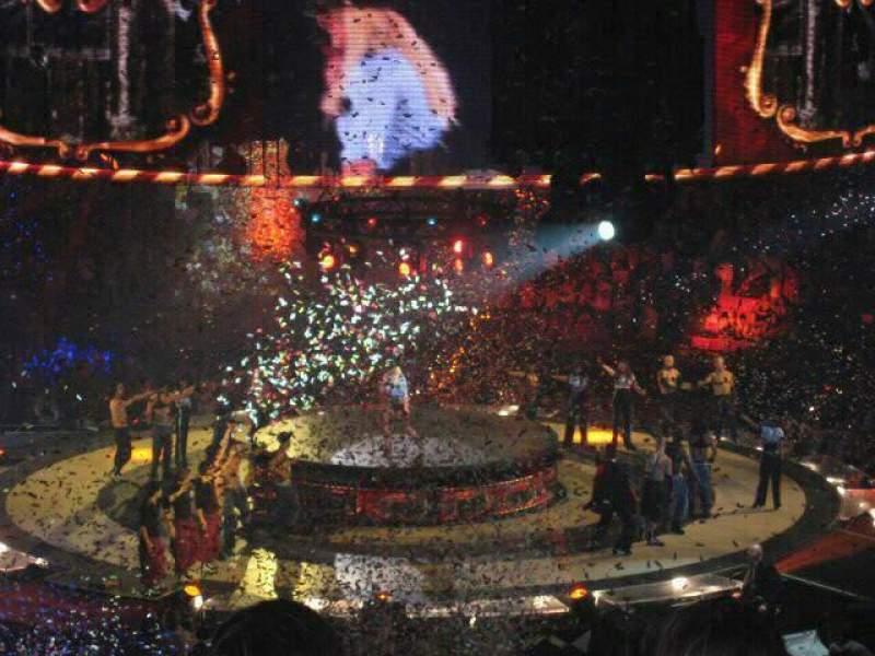 Vista sentada para Madison Square Garden Secção 330 Fila A Lugar 2