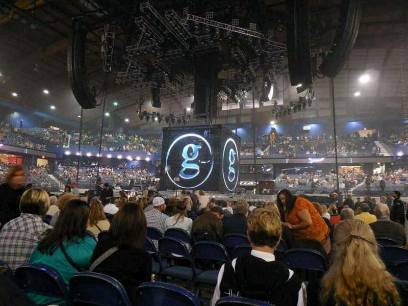 Vista sentada para Allstate Arena Secção Floor