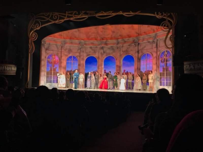 Vista sentada para Broadhurst Theatre Secção Orchestra L Fila P Lugar 2