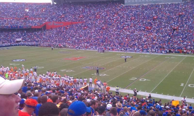 Vista sentada para Ben Hill Griffin Stadium Secção 31 Fila 37 Lugar 24