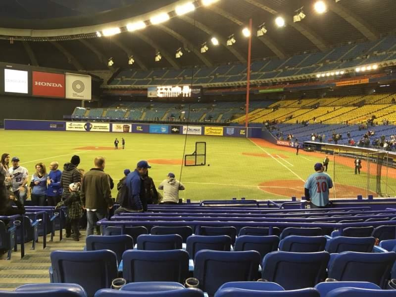 Vista sentada para Olympic Stadium, Montreal Secção 106 Fila QQ Lugar 11
