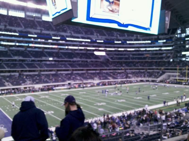 Vista sentada para AT&T Stadium Secção C238 Fila 13 Lugar 1