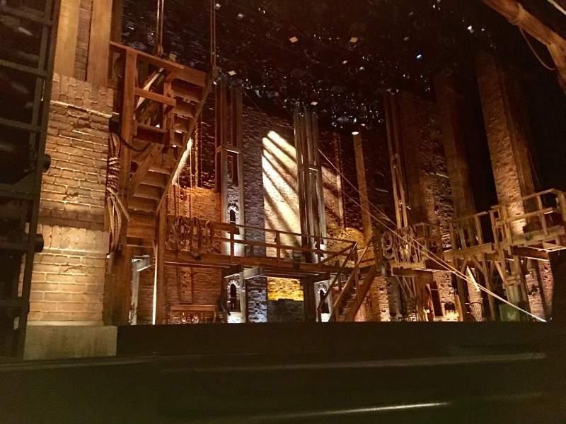 Vista sentada para Orpheum Theatre (San Francisco) Secção Orchestra L Fila C Lugar 1