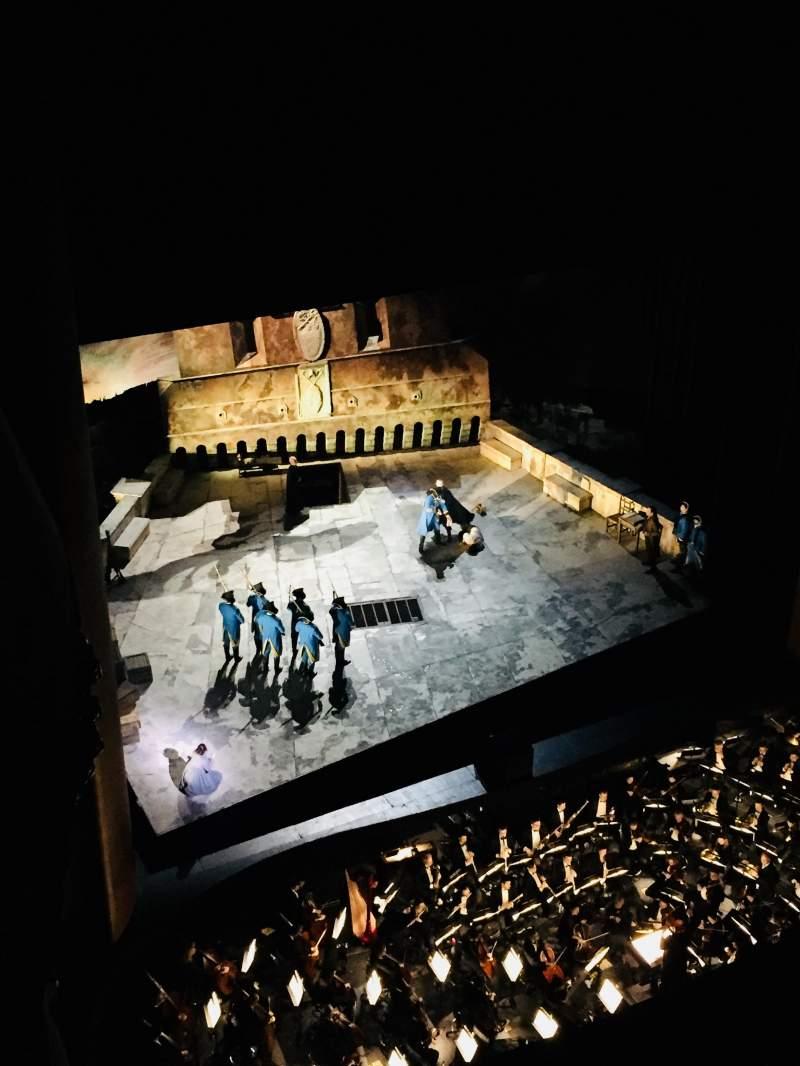 Vista sentada para Metropolitan Opera House - Lincoln Center Secção Family Circle