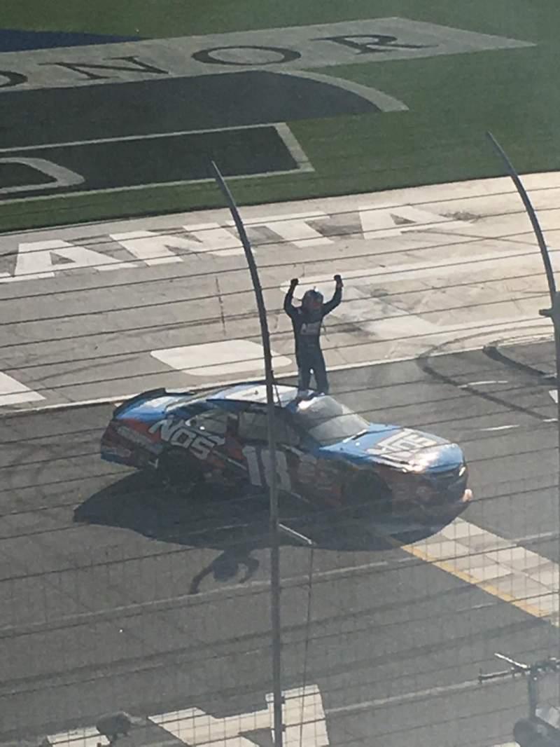 Vista sentada para Atlanta Motor Speedway Secção 141