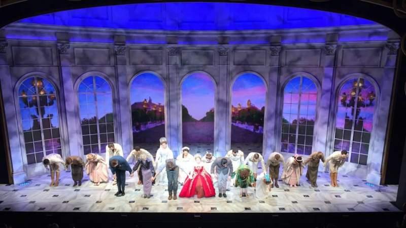 Vista sentada para Broadhurst Theatre Secção Mezzanine C Fila A Lugar 108