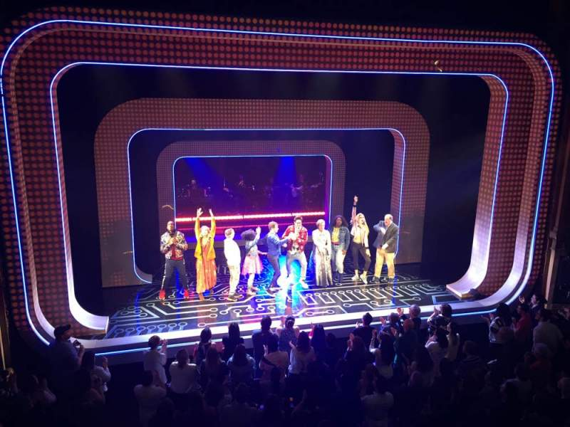 Vista sentada para Lyceum Theatre (Broadway) Secção Mezzanine C Fila A Lugar 113