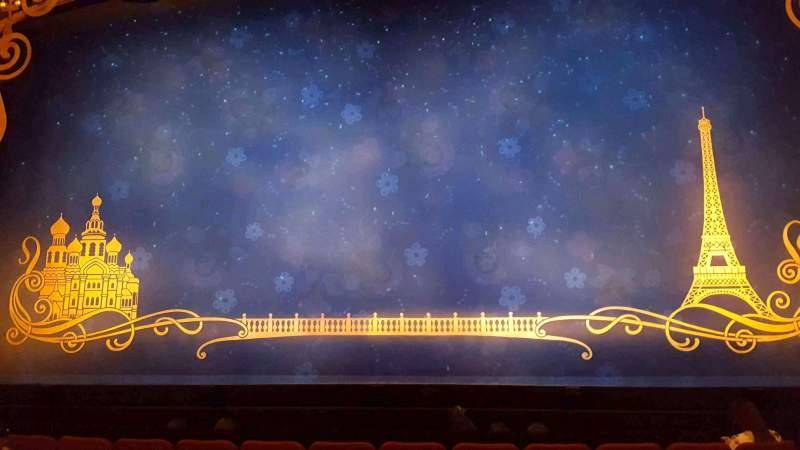 Vista sentada para Broadhurst Theatre Secção Orchestra C Fila G Lugar 110