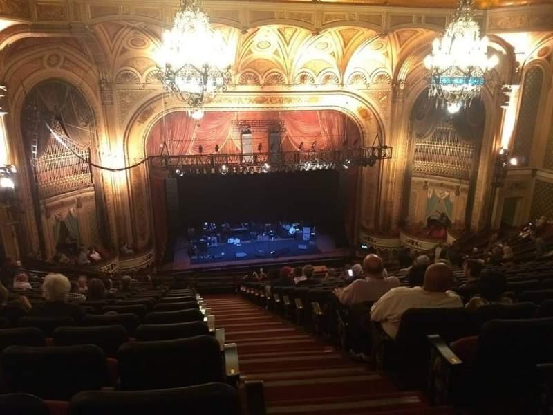Vista sentada para Orpheum Theatre (Los Angeles) Secção BALC Fila U Lugar 101