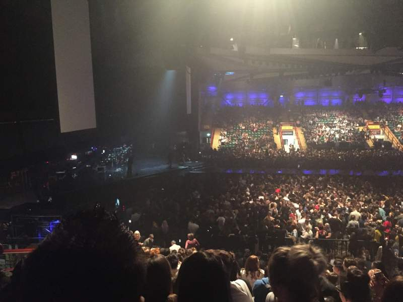 Vista sentada para Utilita Arena Secção 218 Fila U Lugar 434