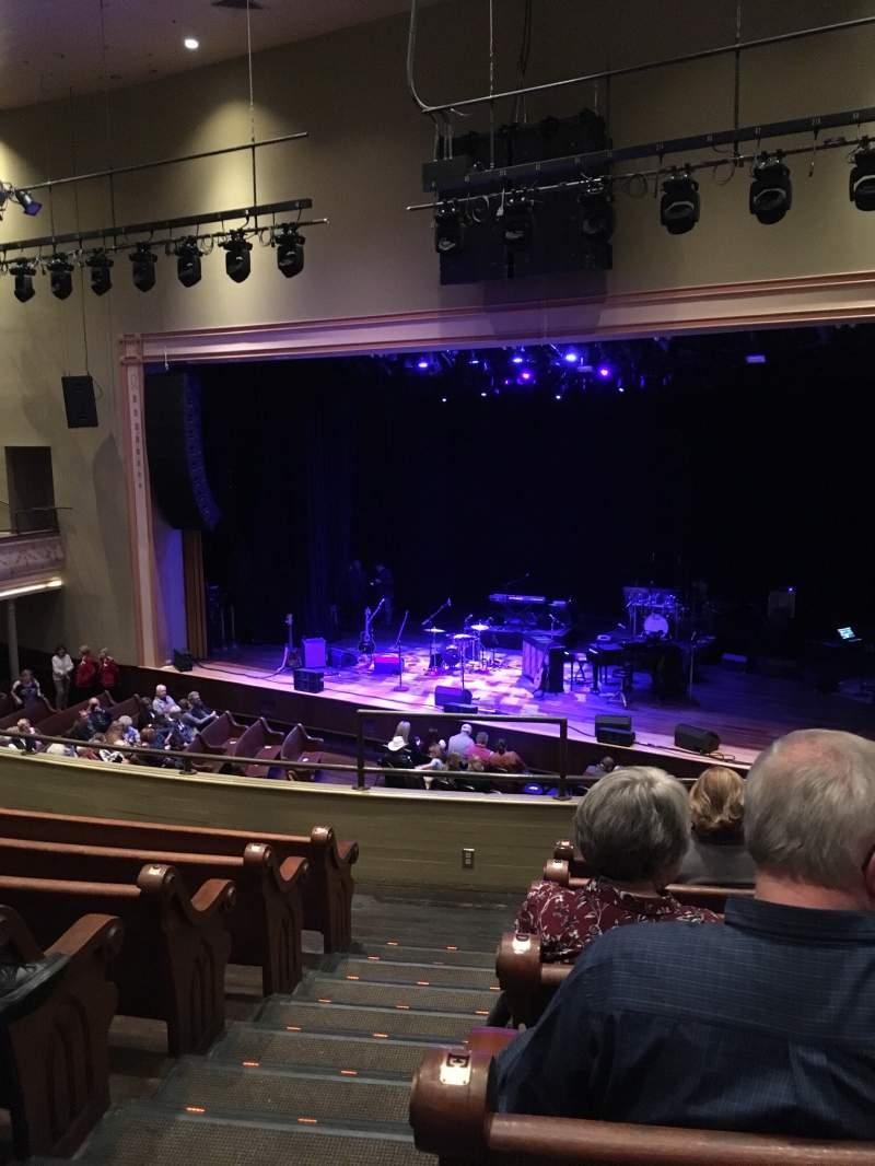 Vista sentada para Ryman Auditorium Secção 11 Fila G Lugar 10