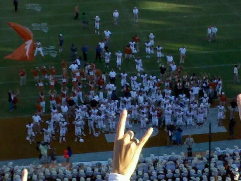 Vista sentada para Cotton Bowl Secção 118