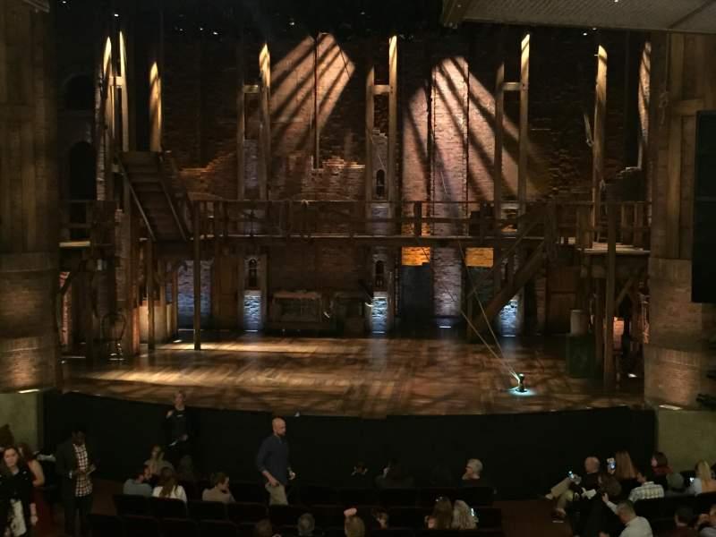 Vista sentada para CIBC Theatre Secção Dress Circle C Fila A Lugar 210