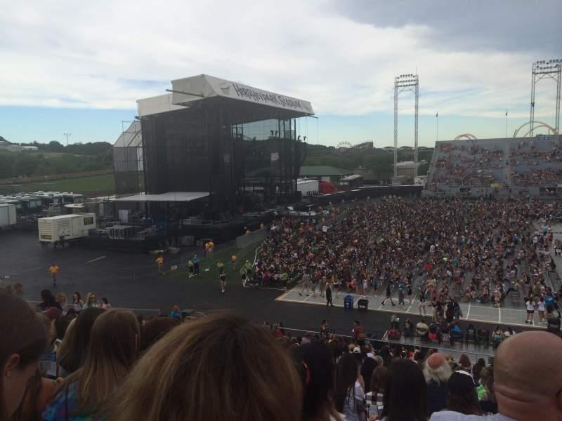 Vista sentada para Hershey Park Stadium Secção 8 Fila U Lugar 5