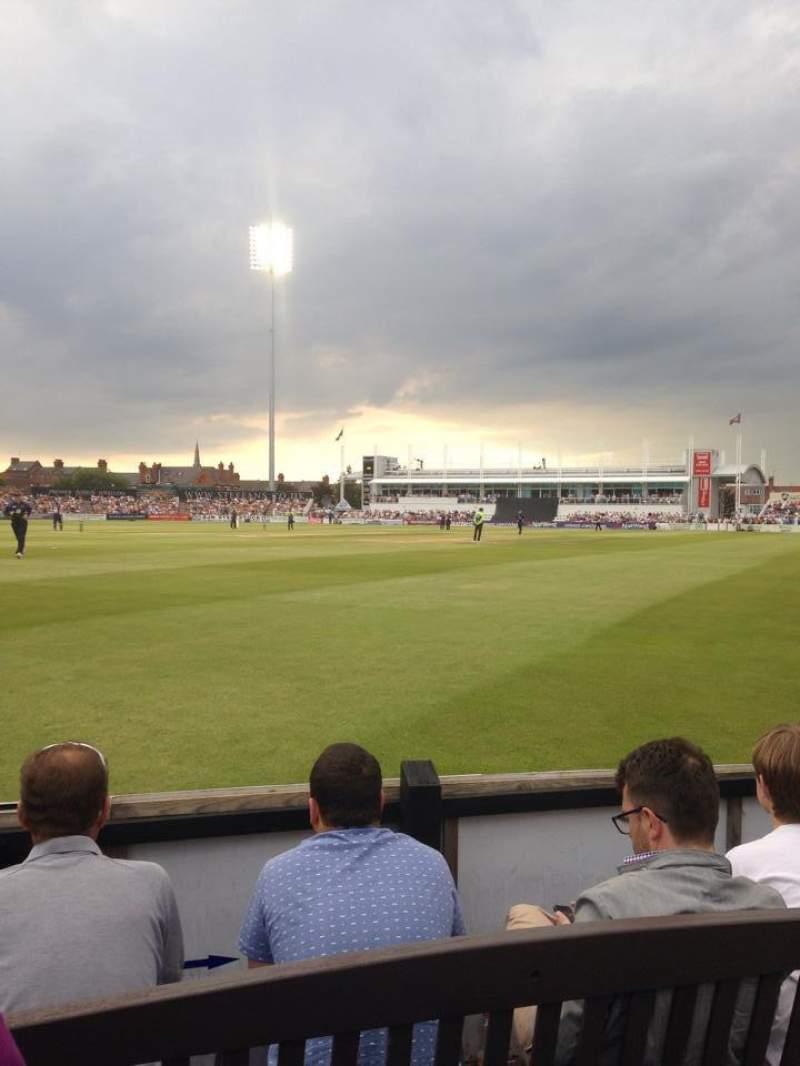 Vista sentada para The County Ground (Northhampton)