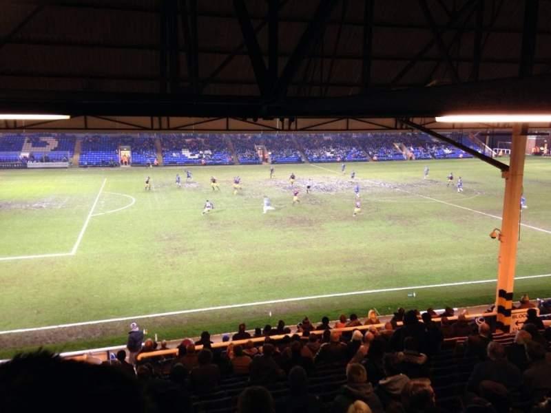 Vista sentada para London Road Stadium