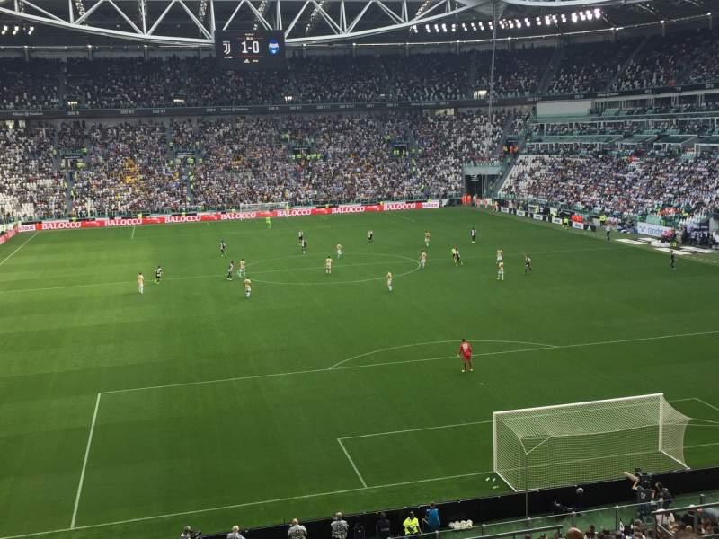 Vista sentada para Allianz Stadium (Turin) Secção 109 Fila 29 Lugar 2