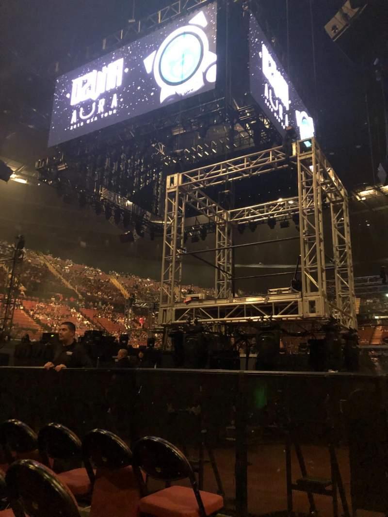 Vista sentada para The Forum Secção A Fila 4 Lugar 4