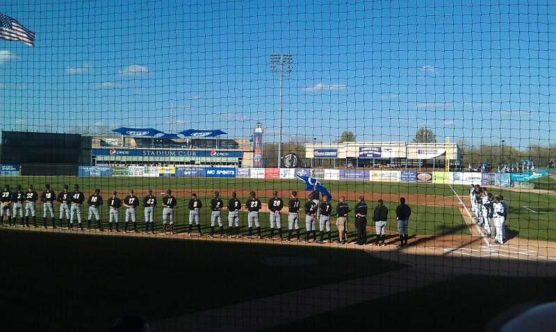 Vista sentada para Fifth Third Ballpark Secção 120 Fila 4 Lugar 12