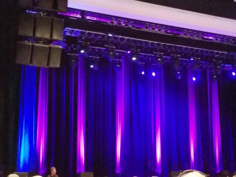 Vista sentada para Borgata Event Center Secção 100 Fila 16 Lugar 14