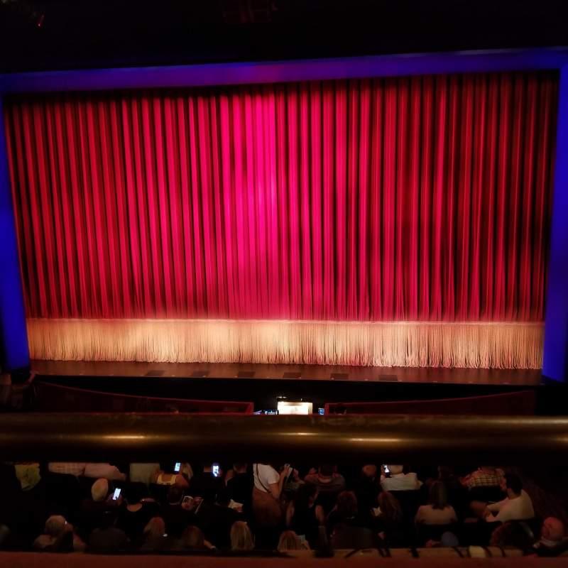 Vista sentada para Longacre Theatre Secção Mezzanine C Fila A Lugar 104