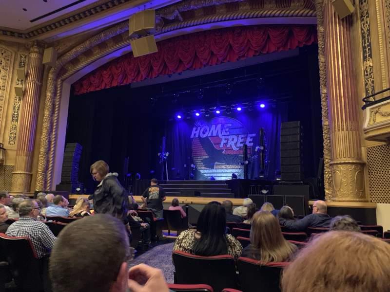 Vista sentada para Victory Theatre Secção ORCH-R Fila L Lugar 4