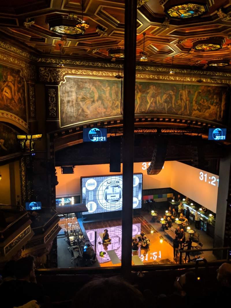 Vista sentada para Belasco Theatre Secção Balcony L Fila E Lugar 9