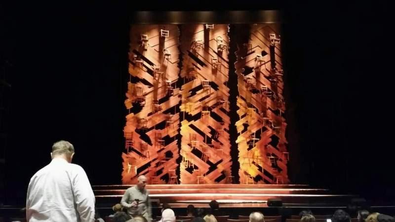 Vista sentada para Durham Performing Arts Center Secção Orchestra 3 Fila H Lugar 111