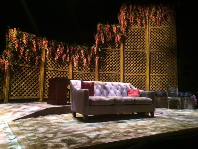 Vista sentada para The Clurman Theater Secção Orch Fila B Lugar 13