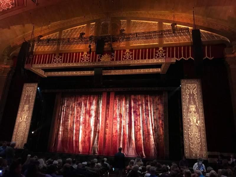 Vista sentada para Fox Theatre (Atlanta) Secção Orchestra RC Fila P Lugar 52