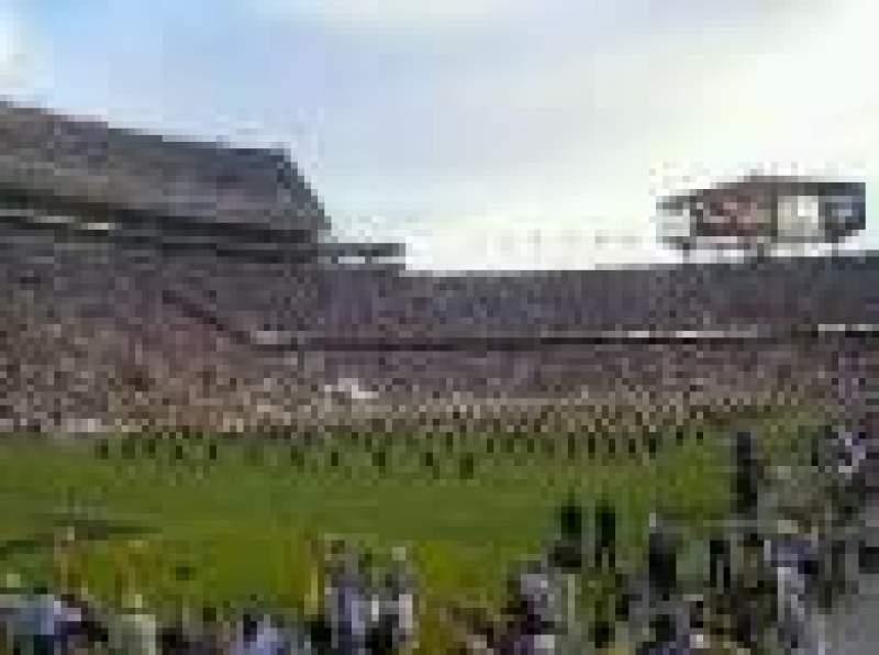 Vista sentada para Tiger Stadium