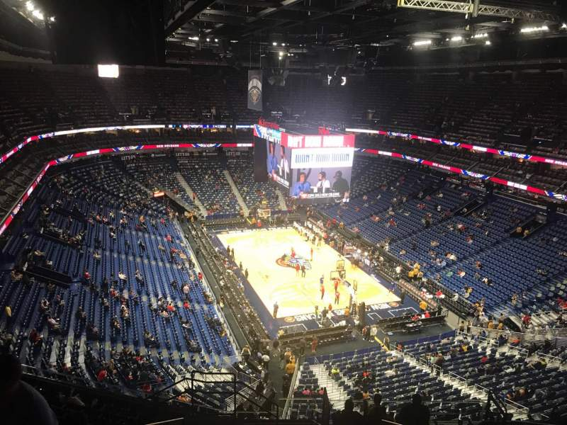 Vista sentada para Smoothie King Center Secção 326 Fila 13 Lugar 18