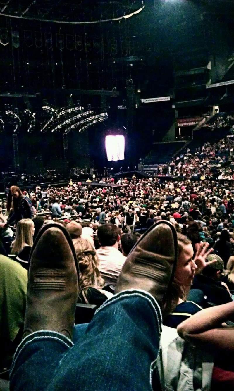 Vista sentada para Nationwide Arena Secção 112 Fila N Lugar 6