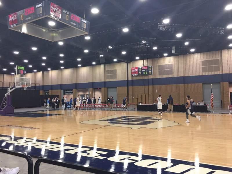 Vista sentada para Mashburn Arena Secção 5 Fila CC Lugar 3