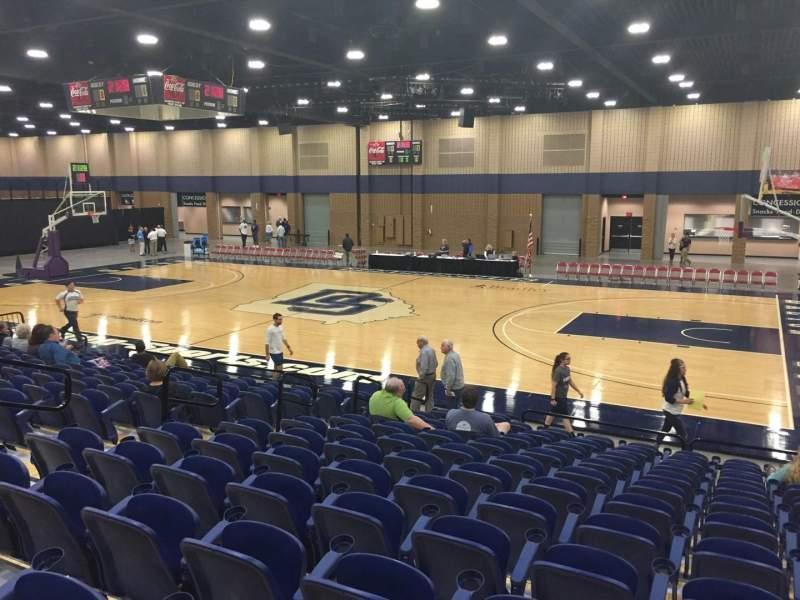 Vista sentada para Mashburn Arena Secção 5 Fila NN Lugar 6
