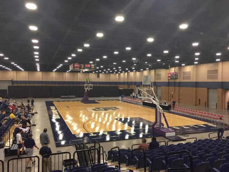 Vista sentada para Mashburn Arena Secção 3 Fila NN Lugar 4