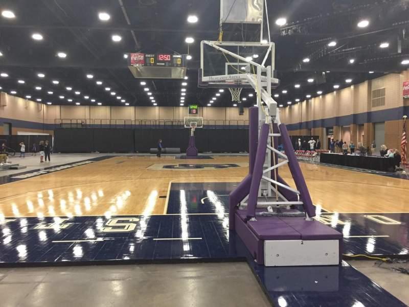 Vista sentada para Mashburn Arena Secção 2 Fila AA Lugar 3