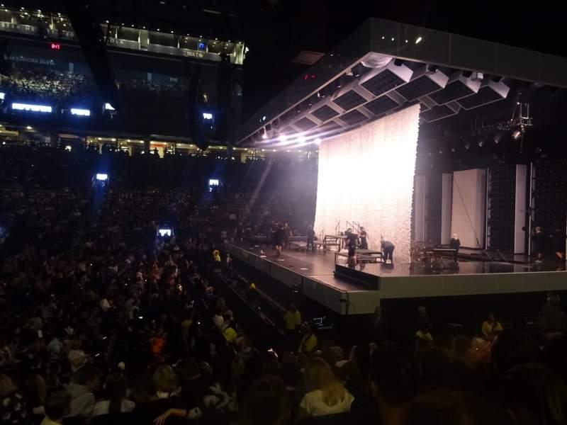 Vista sentada para Scotiabank Arena Secção 118 Fila 11 Lugar 15