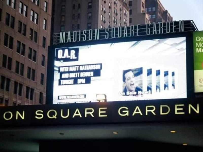Vista sentada para Madison Square Garden