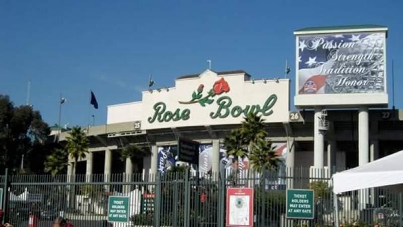Vista sentada para Rose Bowl